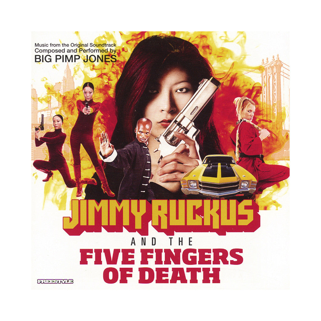 Big Pimp Jones - 'Jimmy Ruckus And The Five Fingers Of Death' [(Black) Vinyl LP]