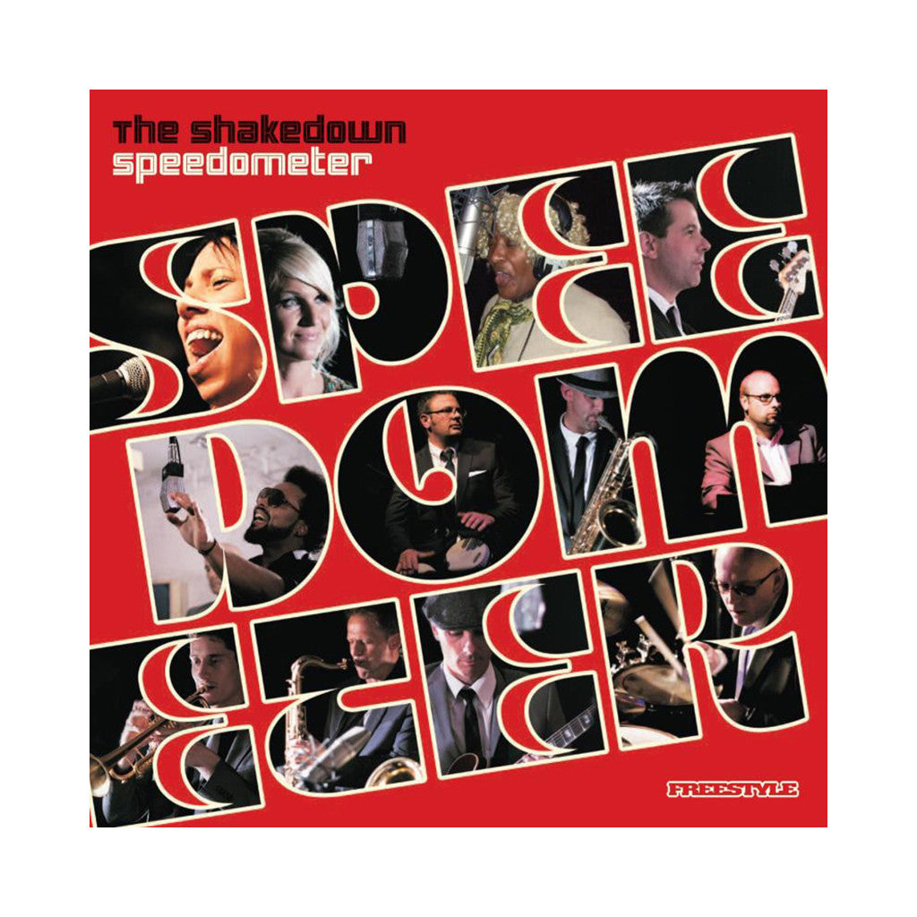 <!--020101019001075-->Speedometer - 'The Shakedown' [(Black) Vinyl LP]