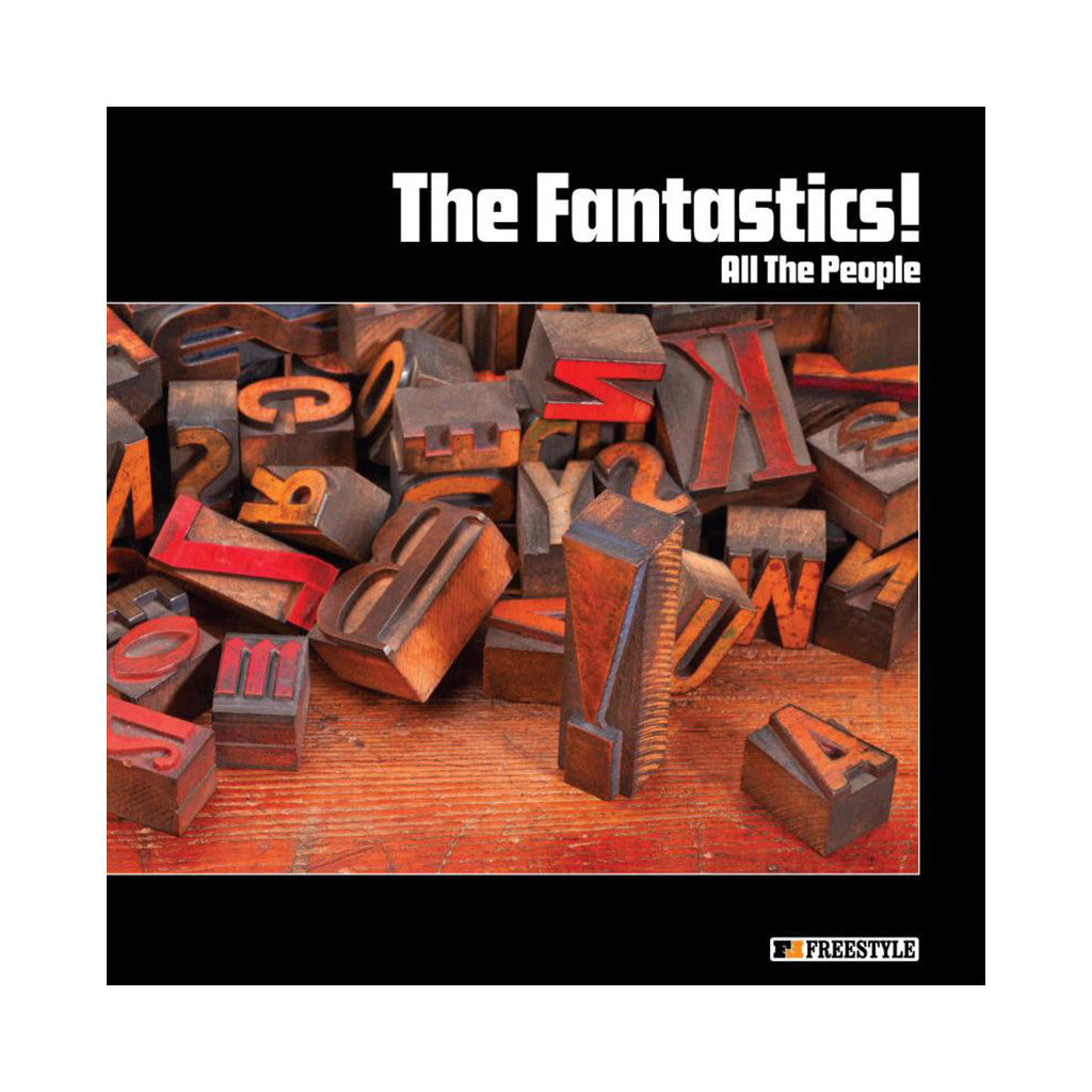 The Fantastics! - 'All The People' [CD]