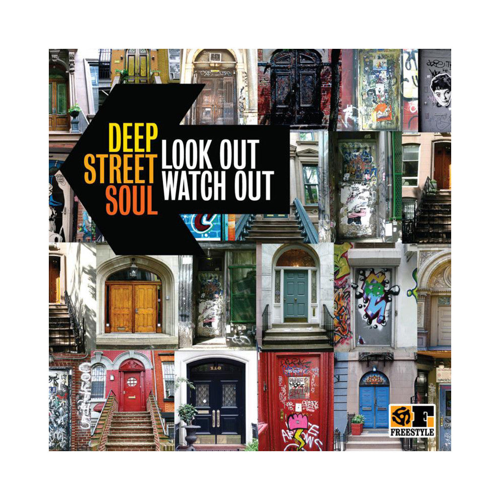 <!--020111025004006-->Deep Street Soul - 'Look Out, Watch Out' [CD]