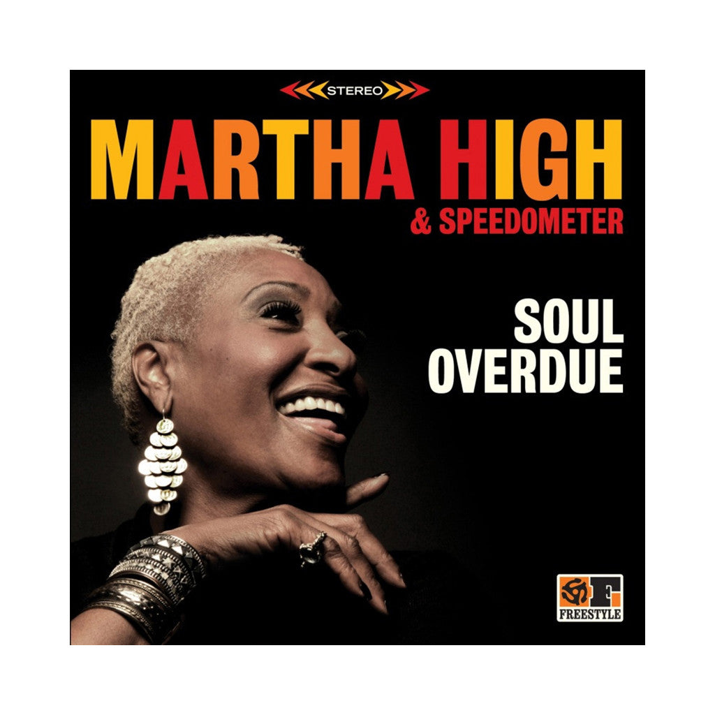 <!--020121030051480-->Martha High - 'Soul Overdue' [(Black) Vinyl LP]