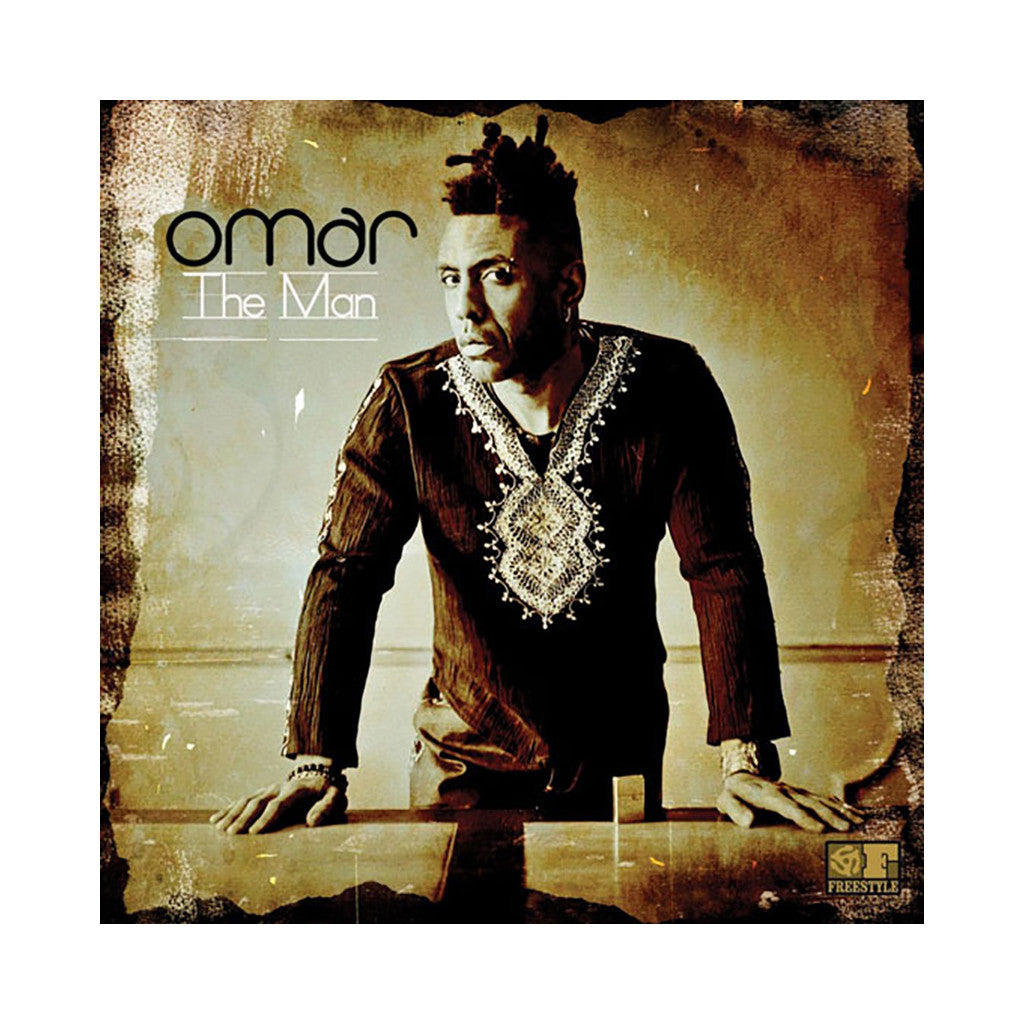 <!--020130624001862-->Omar - 'The Man' [(Black) Vinyl LP]
