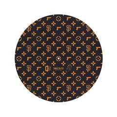 <!--020110301027747-->Stokyo x D-Styles (of Beat Junkies) x Dr. Suzuki - 'Table Cloth - SF YAY' [(Black) Slipmat]