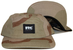 <!--020121030051005-->FTC - 'Logo - Desert Camo' [(Camo Pattern) Five Panel Camper Hat]