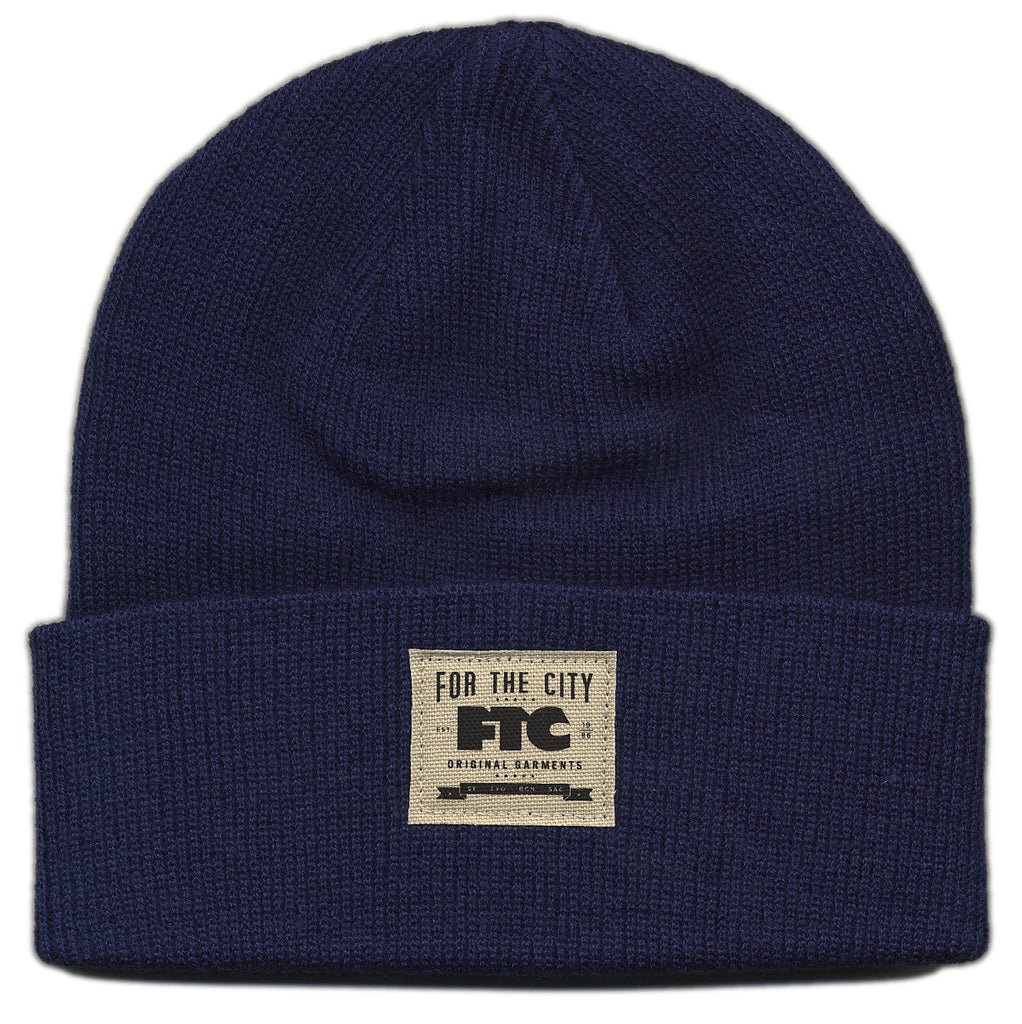 <!--020121030051003-->FTC - 'Herman Work Beanie' [(Dark Blue) Winter Beanie Hat]