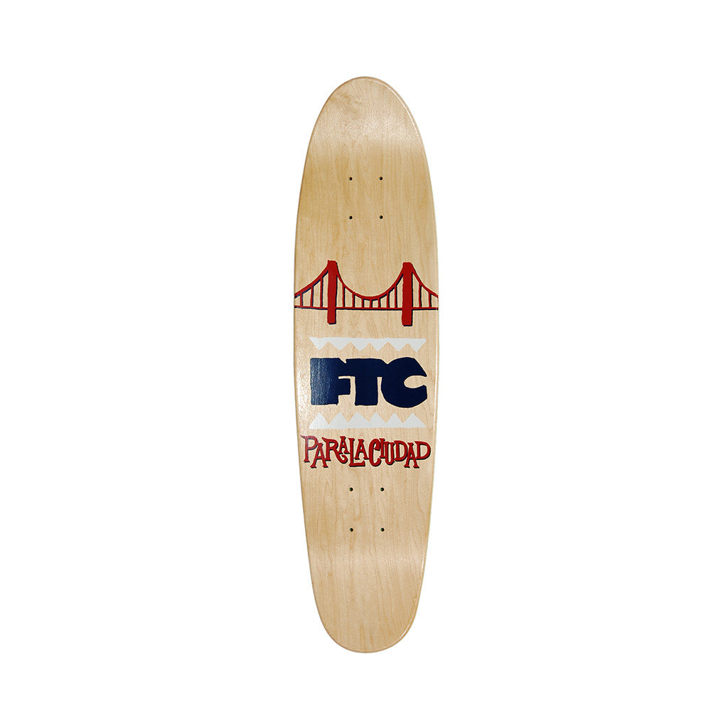 <!--020120925049686-->FTC - 'Skate Haight Cruiser' [(Wood) Skateboard Deck]