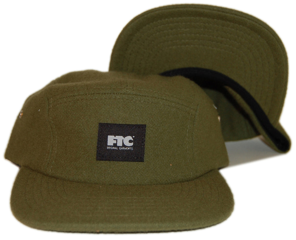 c23961e5b12 FTC - Original Garments - Wool - Five Panel Camper Hat - release date