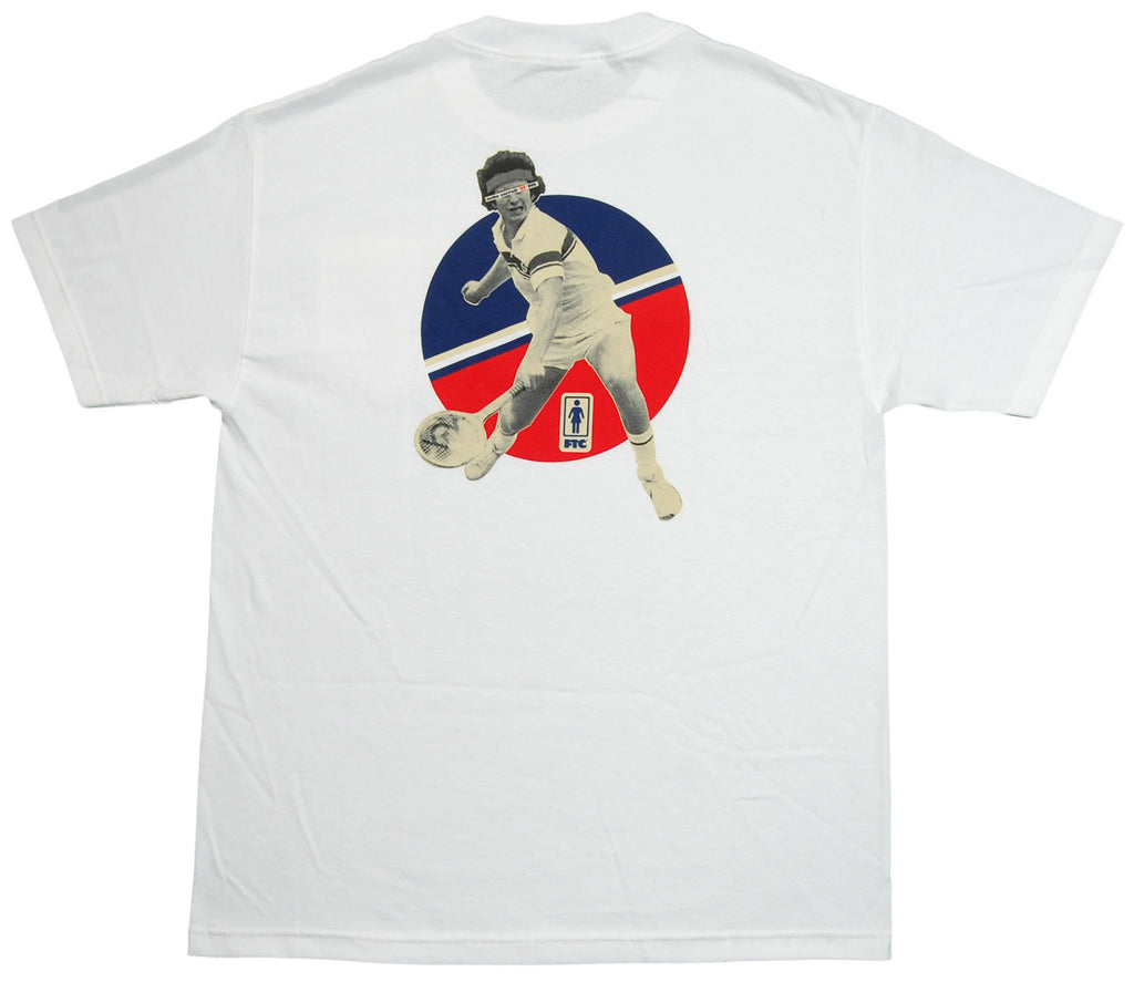 <!--2012103057-->FTC x Girl Skateboards x Mike Carroll - 'Mike Carroll' [(White) T-Shirt]