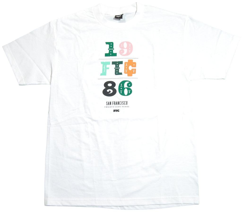 <!--2011051003-->FTC - '1986' [(White) T-Shirt]