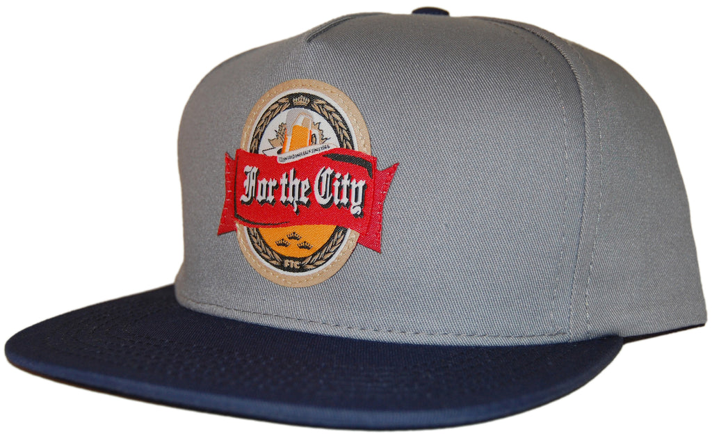 <!--020110712032688-->FTC - 'Cold Ones' [(Gray) Snap Back Hat]