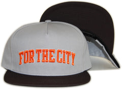 <!--020120508044742-->FTC - 'For The City' [(Gray) Snap Back Hat]