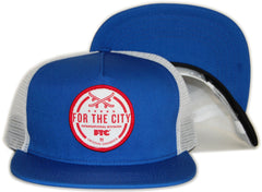 <!--020120508044740-->FTC - 'International Division Trucker' [(Blue) Snap Back Hat]