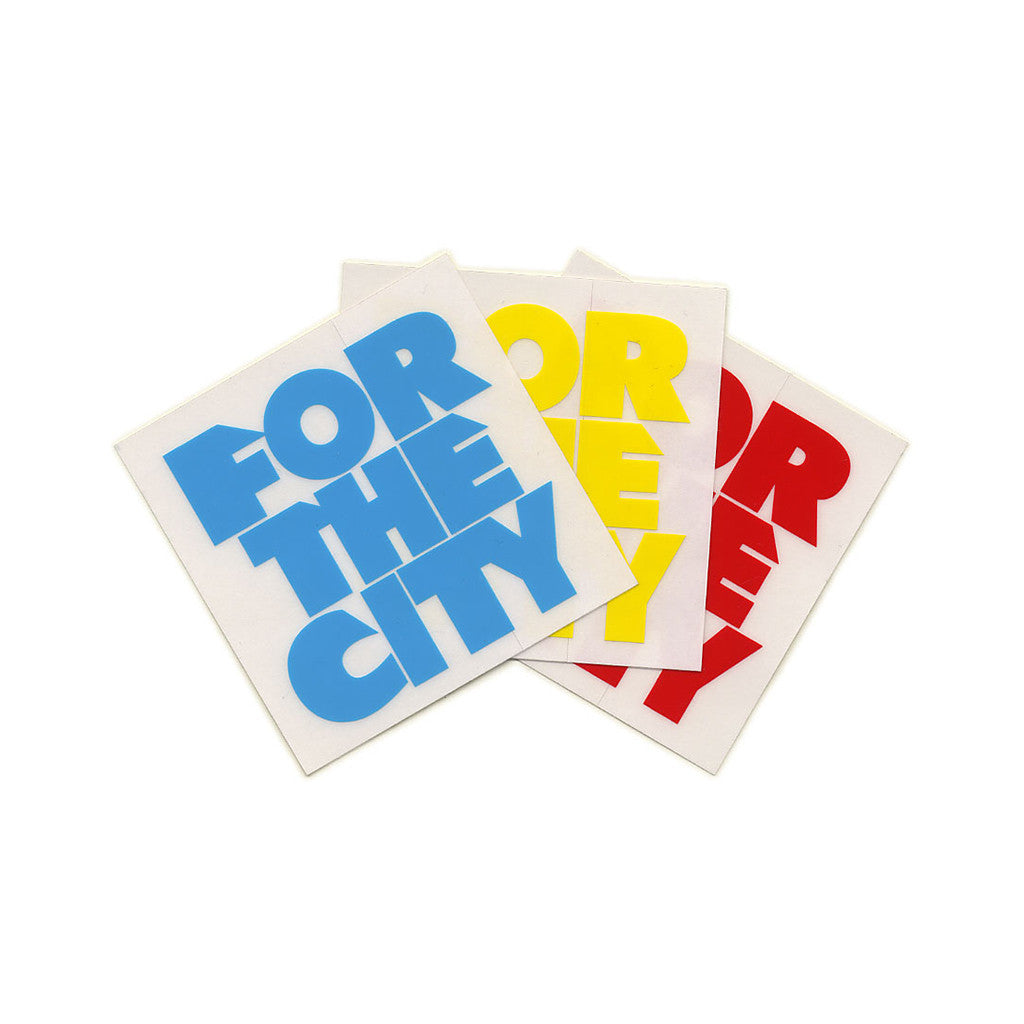 <!--020120221042238-->FTC - 'ForTheCity Stack (X 2)' [Sticker]