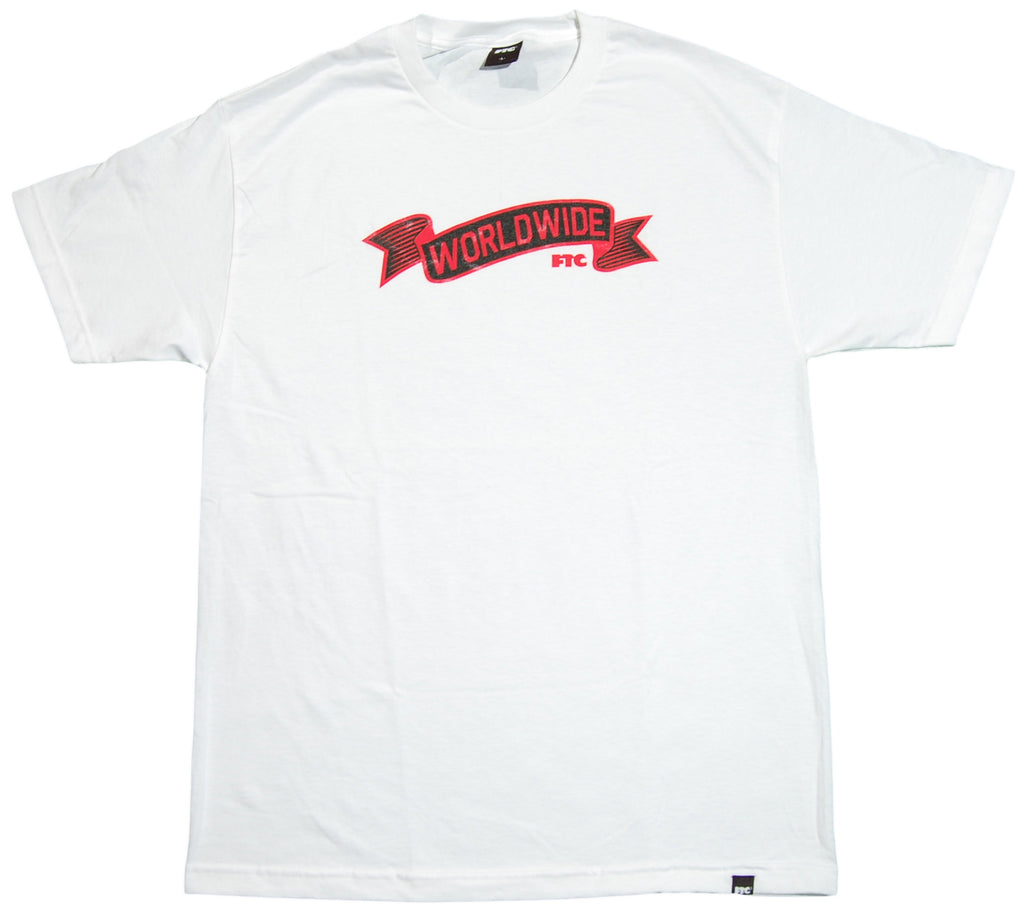 <!--2012022112-->FTC - 'Worldwide' [(White) T-Shirt]