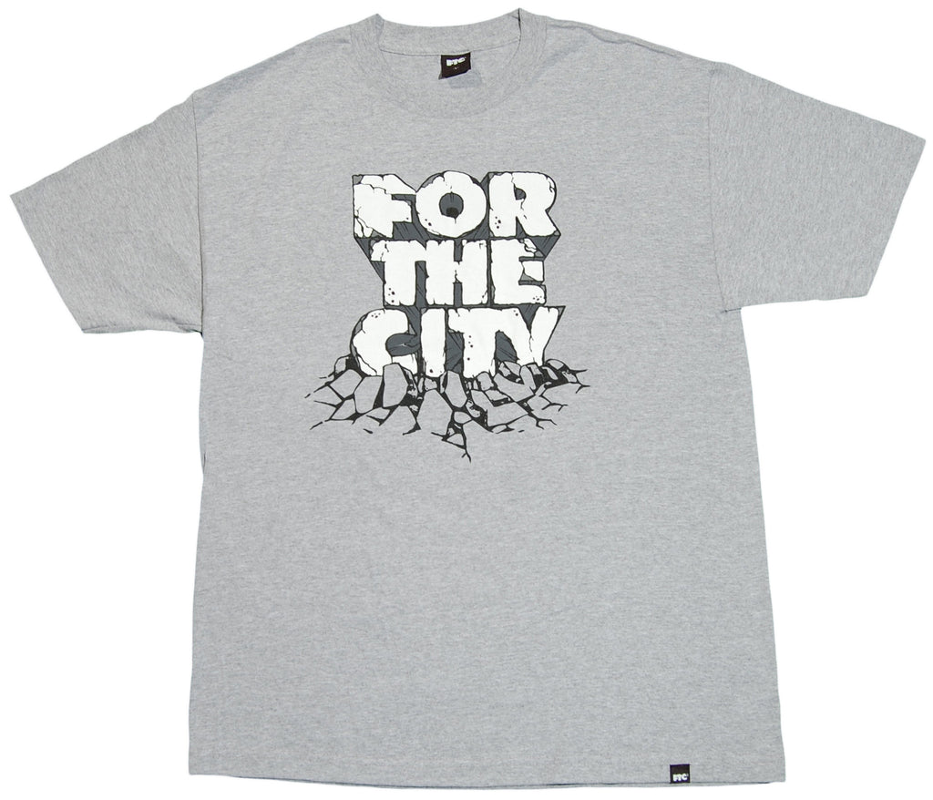 <!--2012022158-->FTC - 'Earthshakers' [(Gray) T-Shirt]