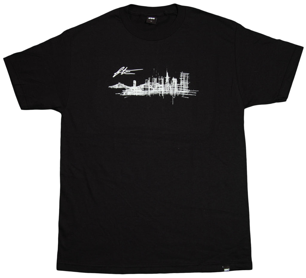<!--2012022103-->FTC - 'Dock Of The Bay' [(Black) T-Shirt]