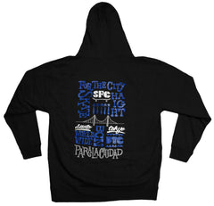 <!--2012120431-->FTC - 'Skate Haight' [(Black) Hooded Sweatshirt]