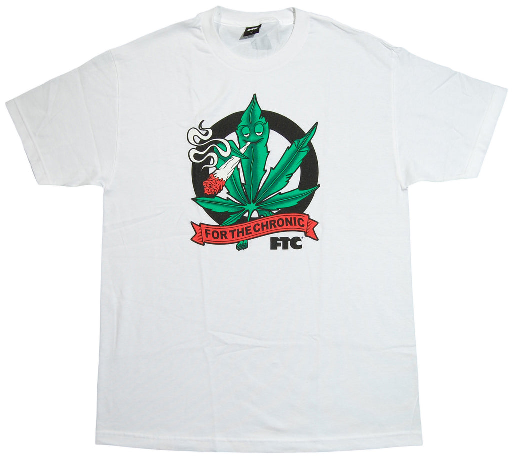 <!--2012120445-->FTC - 'For The Chronic' [(White) T-Shirt]