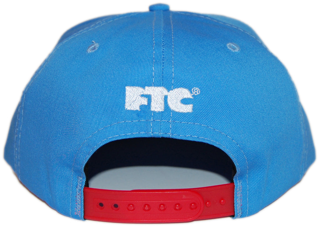 <!--020130903059347-->FTC - 'For The City - Red' [(Light Blue) Snap Back Hat]