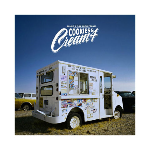 Shuko & F. Of Audiotreats - 'Cookies & Cream 4' [(Black) Vinyl LP]