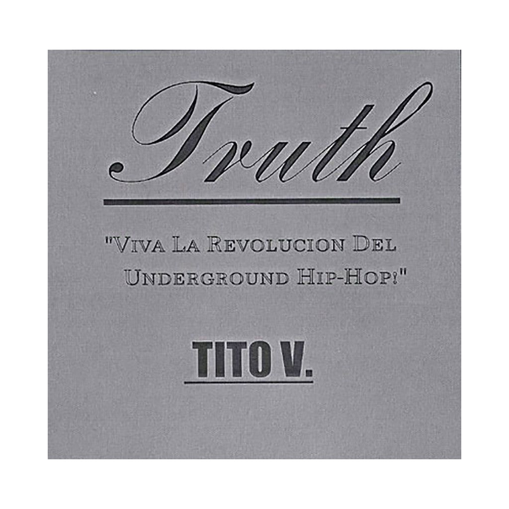 Tito V. - 'Truth' [CD]