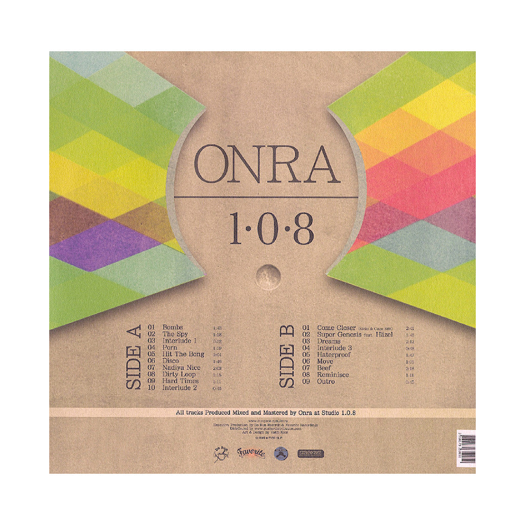 <!--120130122053146-->Onra - '1.0.8' [(Black) Vinyl LP]
