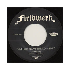 "Crushcon7 - 'Fieldwerk/ Letters From The Low End' [(Black) 7"" Vinyl Single]"