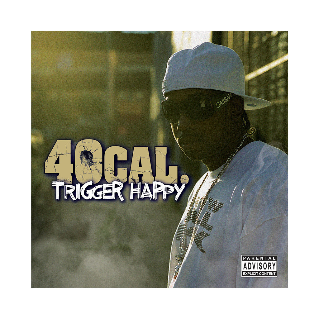 <!--020071030010804-->40 Cal - 'Trigger Happy' [CD]