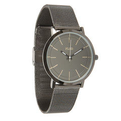 <!--020141217067881-->FLuD Watches - 'The Stunt - Mesh/ Black/ Stingray' [(Black) Watch]