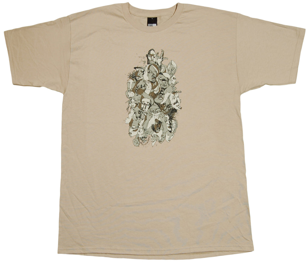 <!--2012041041-->Fifty 24SF x David Choe - 'Skateboard' [(Light Brown) T-Shirt]