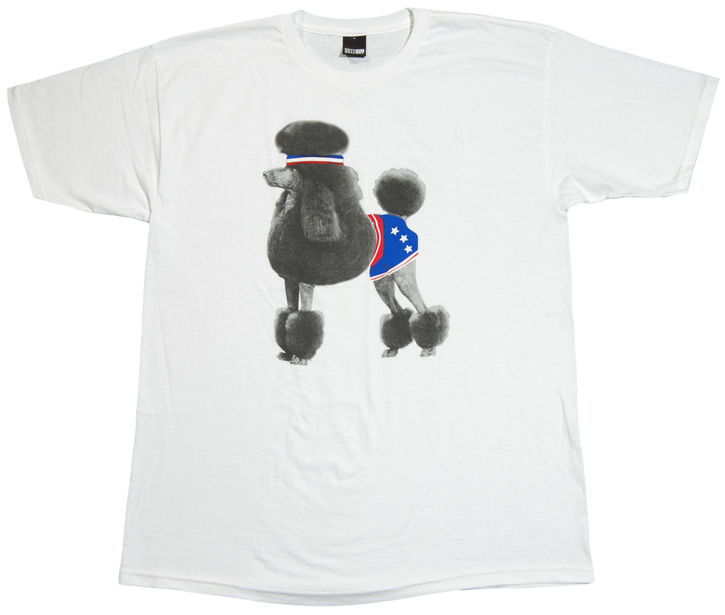<!--2012051538-->Fifty 24SF - 'Poodle' [(White) T-Shirt]