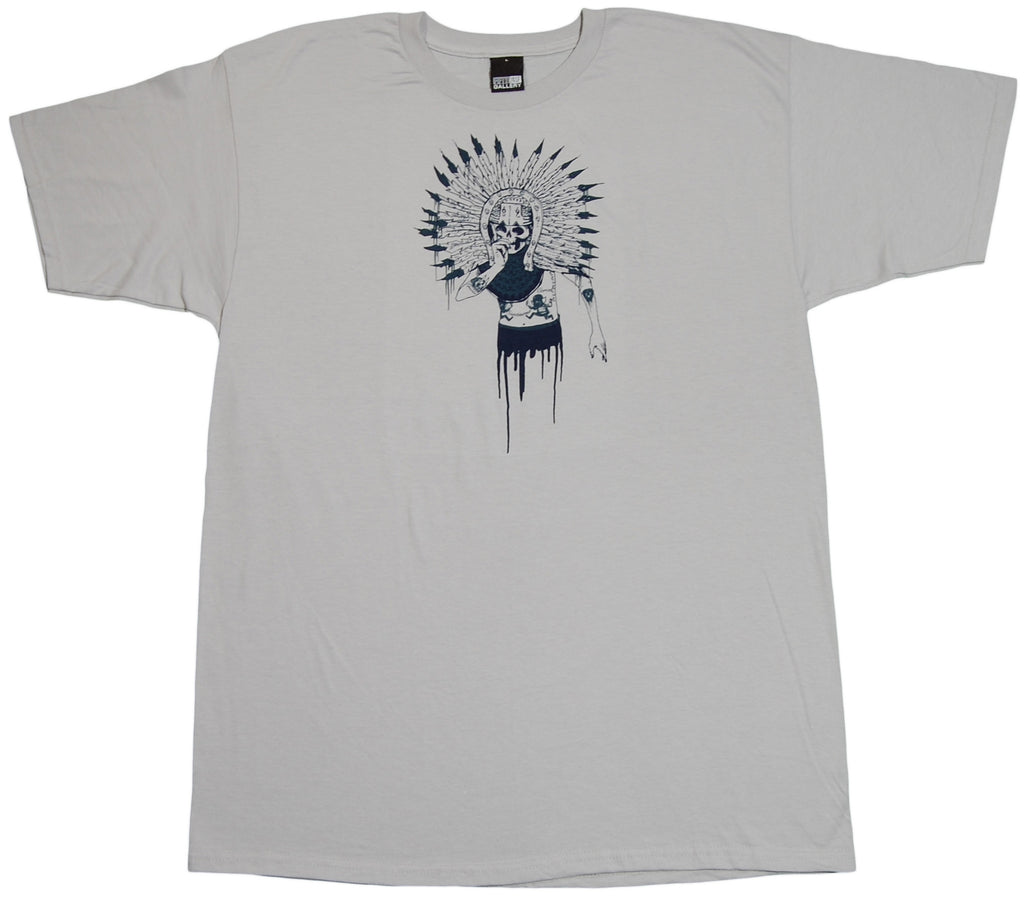 <!--2011091329-->Fifty 24SF - 'Eagle Warrior' [(Light Gray) T-Shirt]