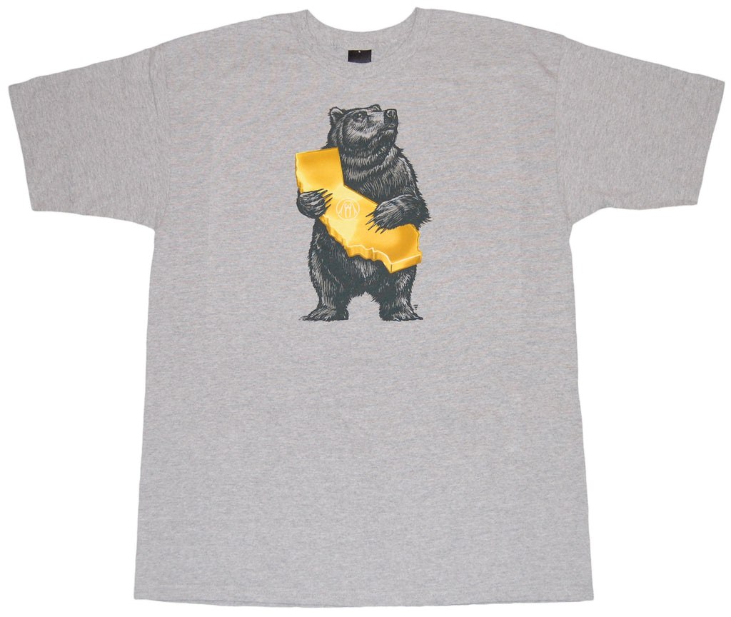 <!--2012041018-->Fifty 24SF - 'Cali Bear' [(Gray) T-Shirt]