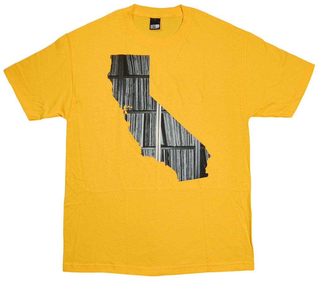 <!--2012011007-->Fifty 24SF - 'CA Records' [(Dark Yellow) T-Shirt]