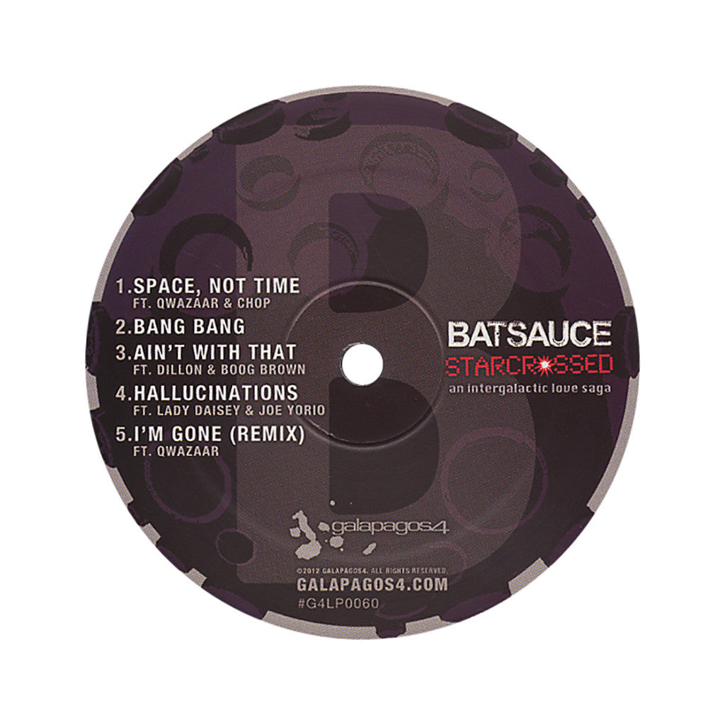 <!--020120731046621-->Batsauce - 'Starcrossed' [(Black) Vinyl LP]