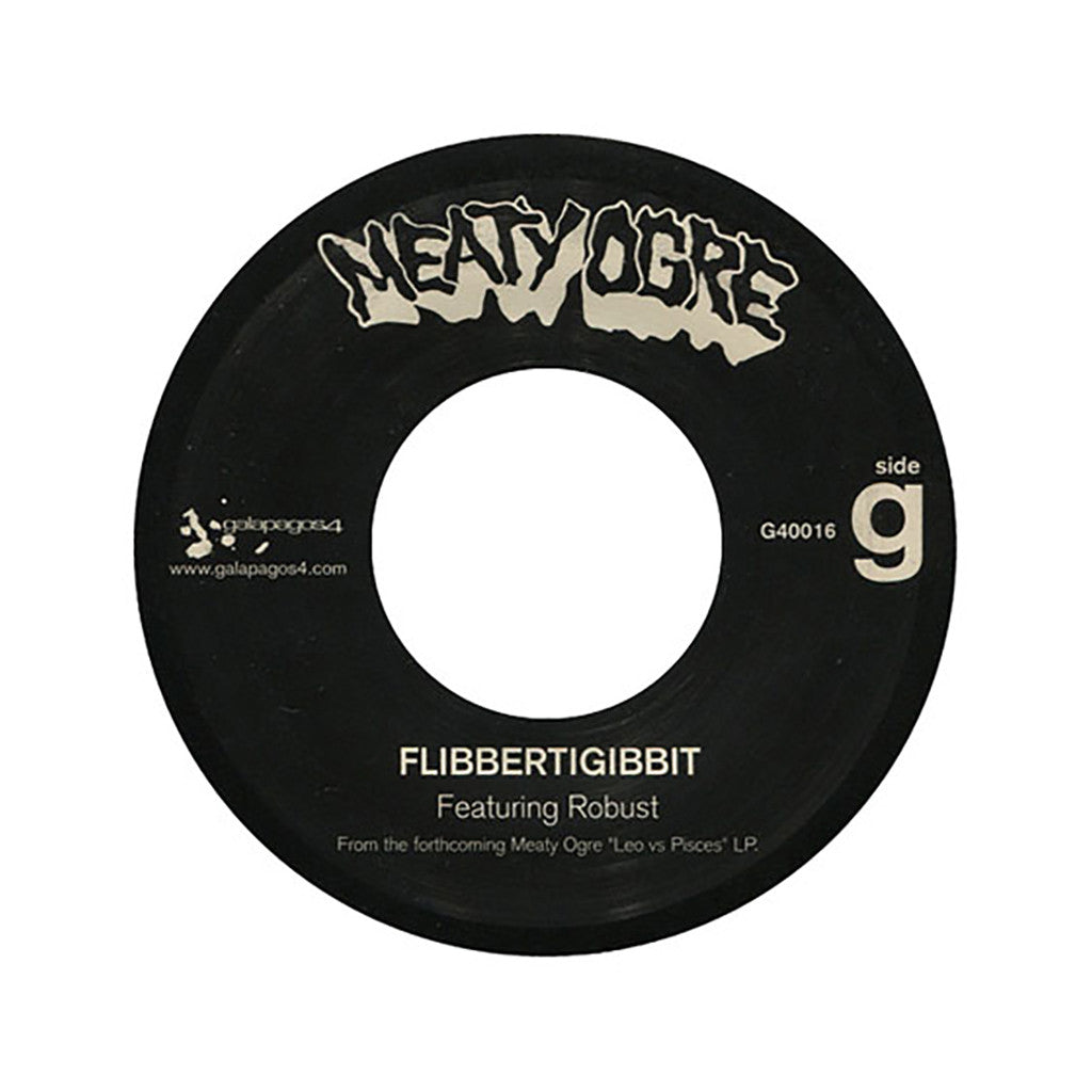 "<!--2003100735-->Meaty Ogre - 'Flibbertigibbit/ Long Dirty Word' [(Black) 7"" Vinyl Single]"