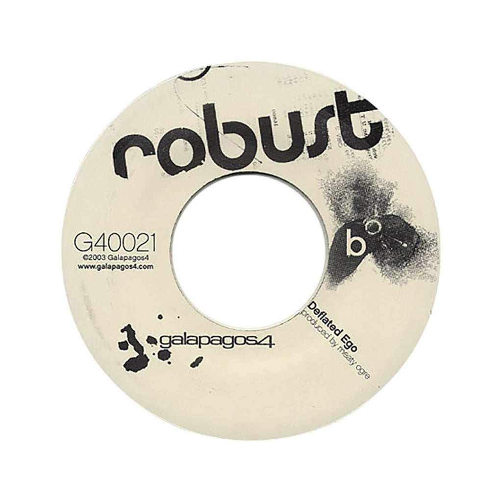 "<!--2003010131-->Robust - 'Yesterday's Fossil/ Deflated Ego' [(Black) 7"" Vinyl Single]"