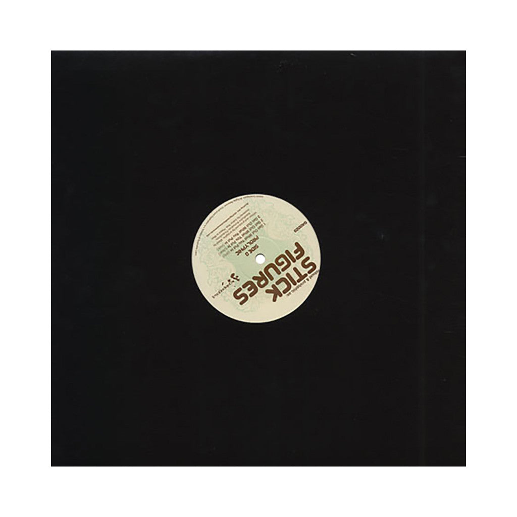 "<!--020050517005180-->Stick Figures - 'Balls Out/ Get Out What You Put In' [(Black) 12"""" Vinyl Single]"