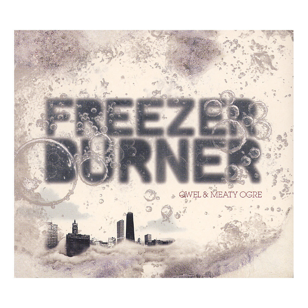 Qwel & Meaty Ogre - 'Freezerburner' [CD]