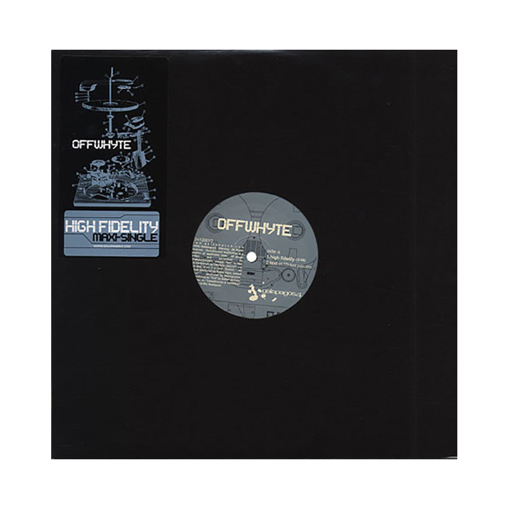 "<!--020020416011776-->Offwhyte - 'High Fidelity/ Compliments & Novelties/ Text' [(Black) 12"" Vinyl Single]"