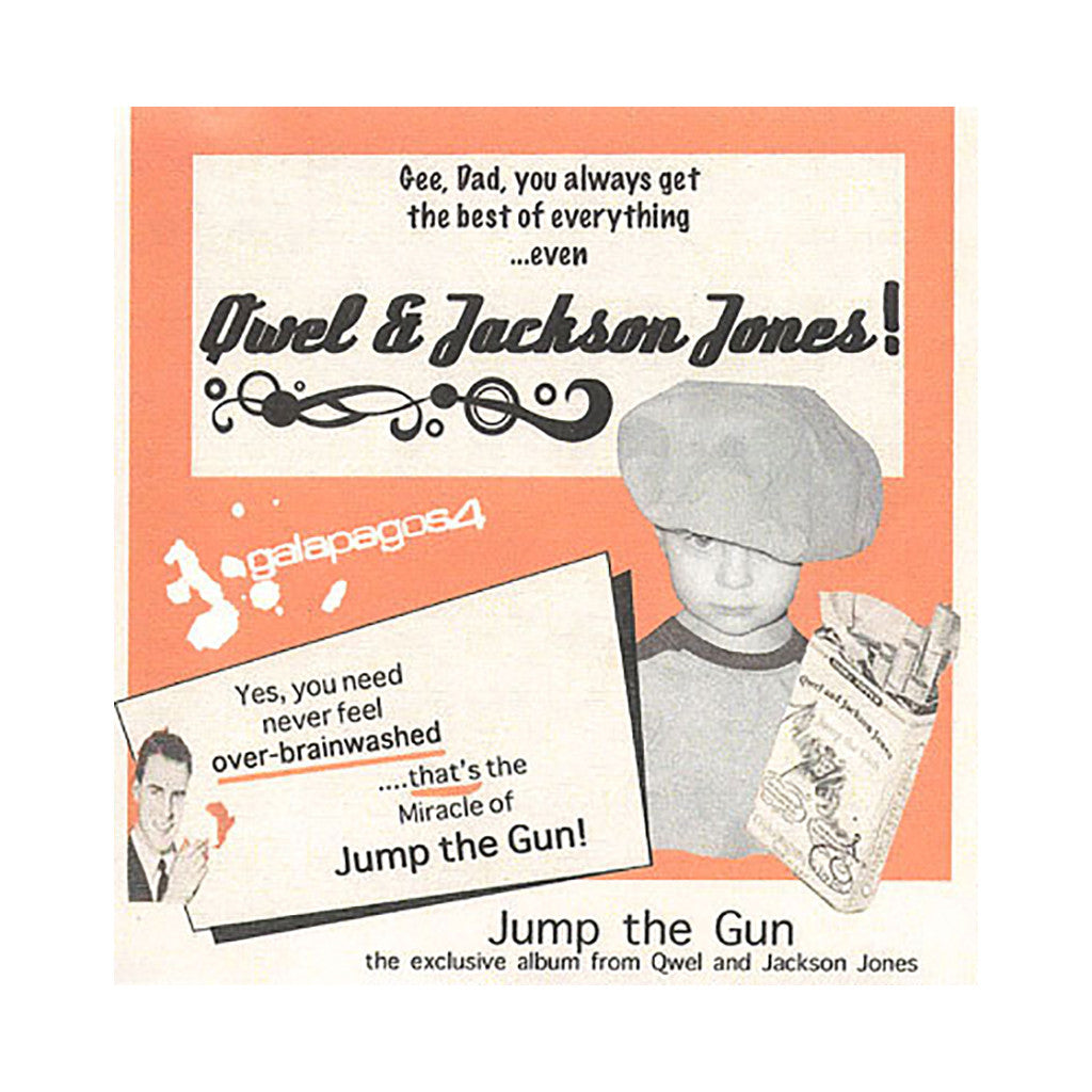 Qwel & Jackson Jones - 'Jump The Gun' [CD]