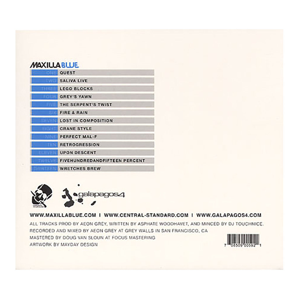 <!--120120228040724-->Maxilla Blue - 'Volume 3' [CD]