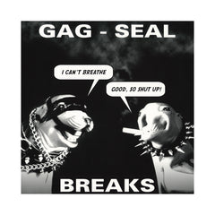 Skratchy Seal - 'Gag-Seal Breaks' [(Red , Black & Clear Marble) Vinyl LP]