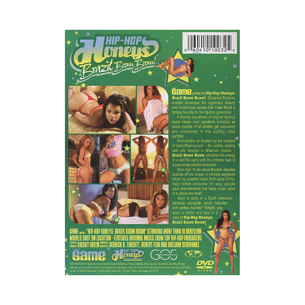 <!--020040101003126-->Hip Hop Honeys - 'Vol. 3 (Brazil Boom Boom!)' [DVD]