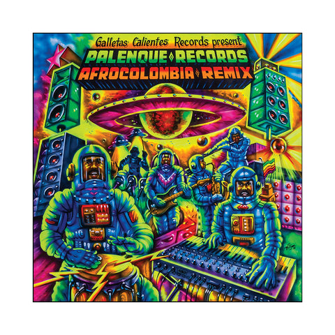 Galletas Calientes Records Present - 'Palenque Records AfroColombia Remix' [(Black) Vinyl LP]