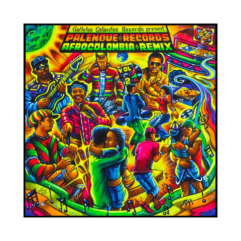 "[""Various Artists - 'Palenque Records AfroColombia Remix Vol. 2' [(Black) Vinyl LP]""]"
