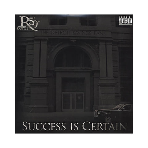 "Royce Da 5'9"" - 'Success Is Certain' [(Black) Vinyl [2LP]]"