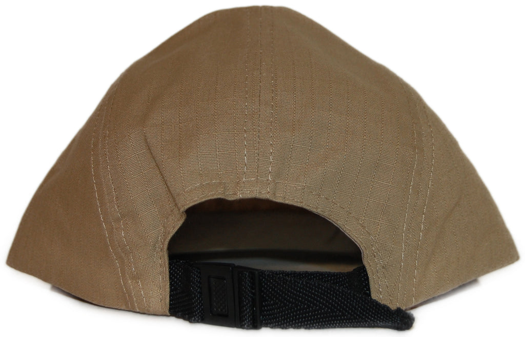 <!--020110927036232-->Gold Coin - 'Surplus Cap v 2.0' [(Light Brown) Five Panel Camper Hat]