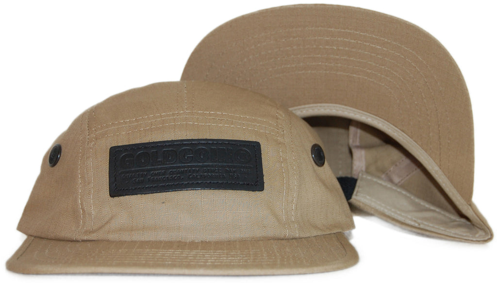 <!--2011092744-->Gold Coin - 'Surplus Cap v 2.0' [(Light Brown) Five Panel Camper Hat]