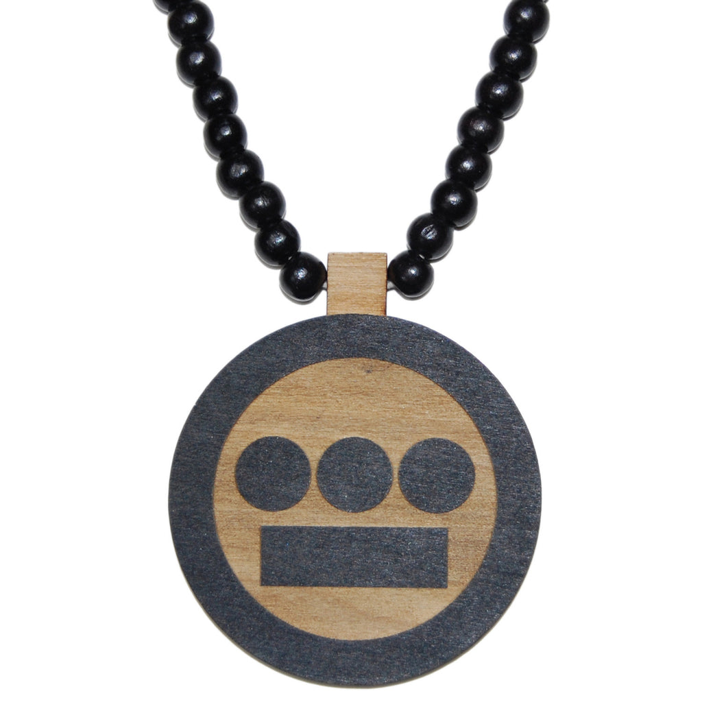 <!--020130312054689-->Gold Coin x Hieroglyphics: The Hieroman Collection - 'Hiero Chain' [(Black) Necklace]